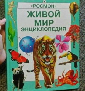 Энциклопедия детская живой мир познавательная