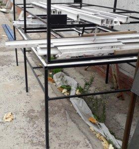 Стол для изготовления пвх окон