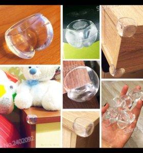 Защитные уголки на мебель от ударов детей