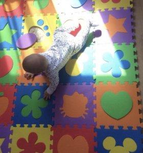Новые коврики-пазл