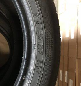 Резина YOKOHAMA R17 55/215 4 шт