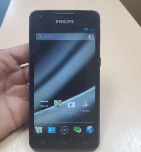 Philips 3G 2сим 8гб 5000мач