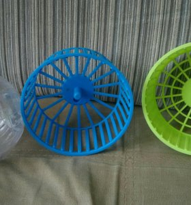 2 колеса и шар для хомяка
