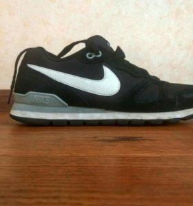 Чёрные мужские кроссовки NIKE AIR WAFFLE