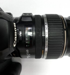 Canon 50d efs 17-85mm