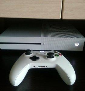 Xbox one S 500gb (на гарантии)