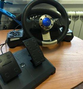 Компьютерный руль Oklick W-3 Sportline