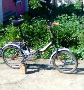 велосипед подростковый,складывающийся,