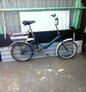 велосипед складывающийся,подростковый,