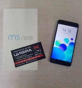 Смартфон Meizu M5 note 3/16гб серый
