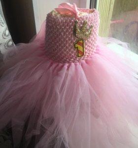 Новое детское платье от 3-х месяцев до года