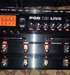 Гитарный процессор Line6 X3 Live