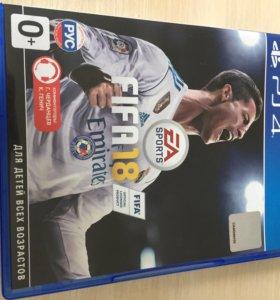 Fifa 18 PS4 лицензия