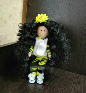 Кукла ручной работы 20 см