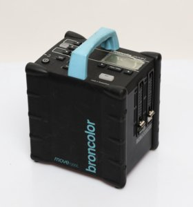 Broncolor Move 1200L. Аккумуляторный генератор