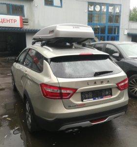 Багажник Thule на Ладу Весту Кросс