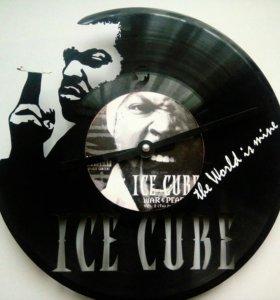 Виниловые часы Ice Cube