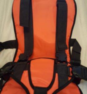 Автокресло 9-36 бескаркасное цвет оранжевый