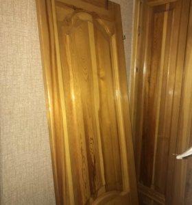 Дверь из натурального дерева продаётся!!!
