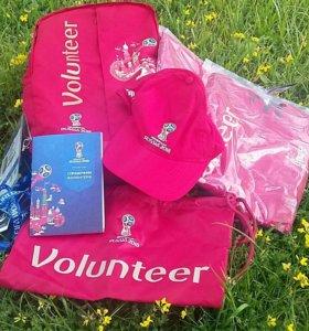 Форма волонтера volunteer's uniform FIFA 2018