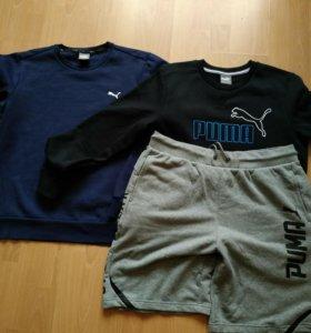Толстовки и шорты Puma