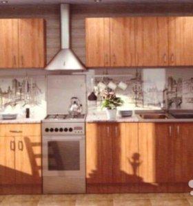 🔵 Кухня «Ольха» 3,4м