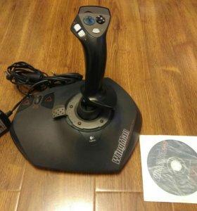 Джойстик с отдачей Logitech WingMan StrikeForce 3d