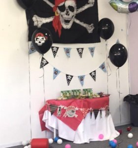 Пиратская вечеринка. Большой набор для праздника
