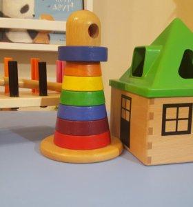 Развивающие игрушки сортер икея и не только