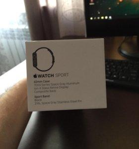 Apple Watch Sport 42mm Case 7000 Series Space Gray