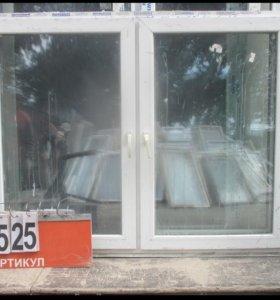 Окна Б/У Пластиковые 1350 (в) х 1760 (ш) № 44525