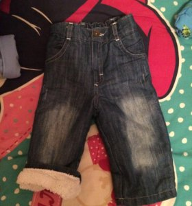 Тёплые джинсы