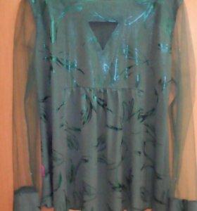 Блузка туника для беременных