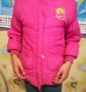 Кофта и куртка девочкам 6-9 лет