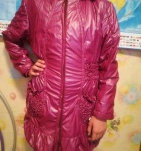 Куртка для девочек 7-12 лет