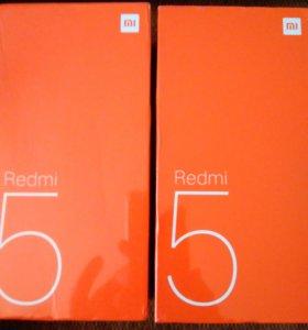Xiaomi redmi 5 3/32, черный, глобальная версия