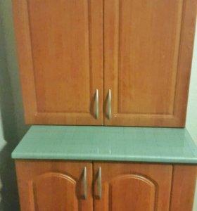 Шкафы кухонные мдф