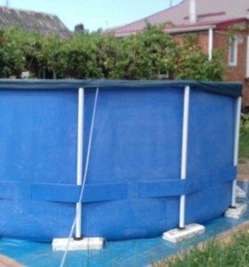 Каркассный бассейн
