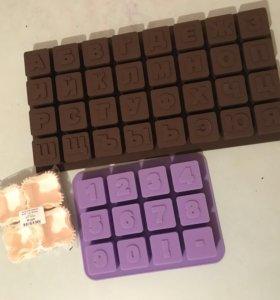 Набор для изготовления шоколадных букв