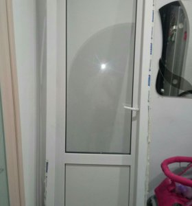 Дверь пвх с рамой