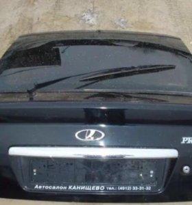 Дверь багажника Приора хэтчбек