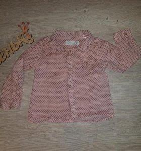 Рубашка ZARA) и юбочки)