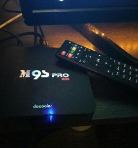 Смарт ТВ приставка на андройд - M9s Pro