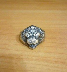 Перстень мужской Лев