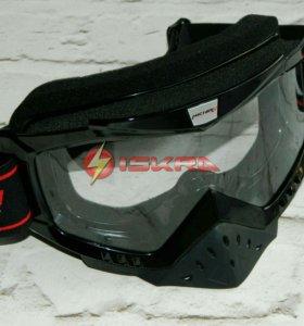 Очки кроссовые MICHIRU G850 чёрные