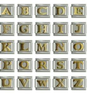 Nomination classic буквы