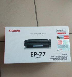 Картридж лазерный Canon EP-27 (не вскрывался)