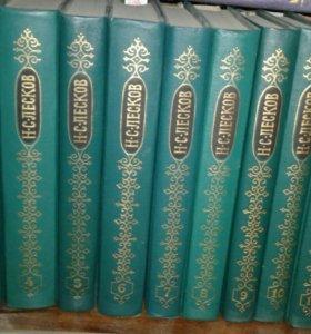 Н.С.Лесков в 12 томах 1989 г.