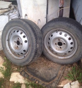 185/60/14 пара колес