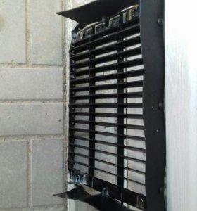 Защита радиатора кондиционера митсубиси делика